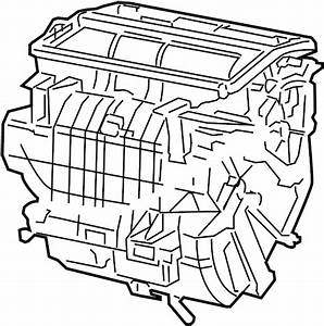 Toyota Camry Radiator Assembly  Air Conditioner  Auto