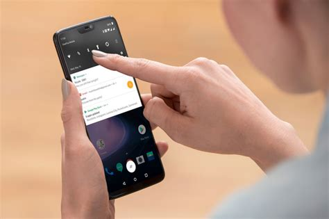 oneplus 6 is announced with snapdragon 845 larger screen and interface gestures phonearena