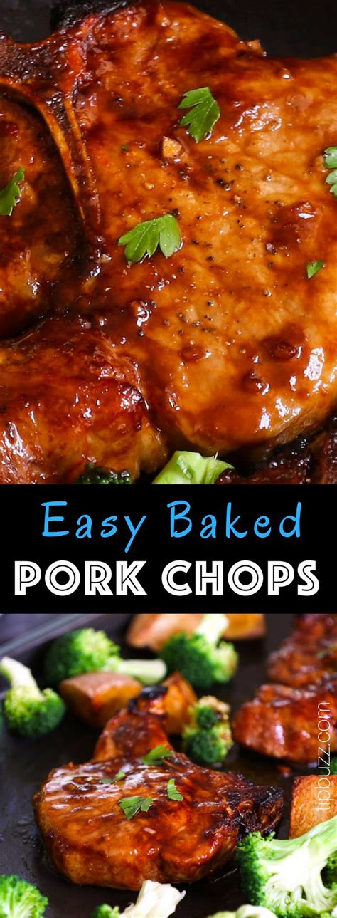 This is one of my favorite ways to eat pork. Baked Bone-in Pork Chops are juicy, tender, sticky and ...