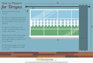 How to Measure for Drapes DIYIdeaCenter com
