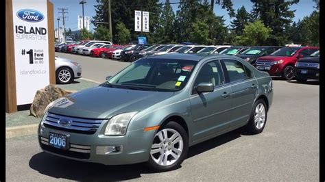 2006 Ford Fusion Mpg by 2006 Ford Fusion Sel Reviews Car Tech