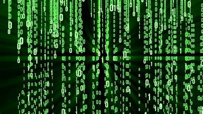 Hacker Matrix 4k Binary Coding Background Code