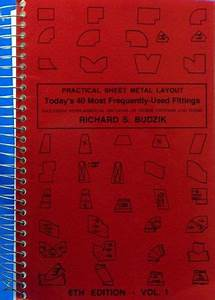 Maintenance Sheet Practical Sheet Metal Layout Volume One Today 39 S 40 Most