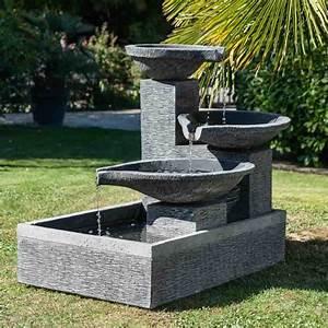 Fontaine Exterieur Zen : mieux tendance fontaine exterieur zen la tendance ~ Nature-et-papiers.com Idées de Décoration