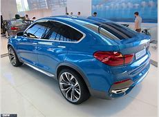 BMW X4 at BMW Welt in Munich