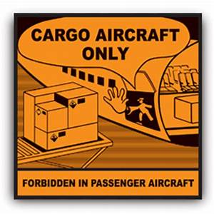 cargo aircraft only label cao label iata buy securely With cargo aircraft only label