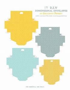 Tea Bag Envelopes Free Printable