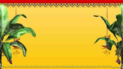 indian wedding invitation background designs wedding
