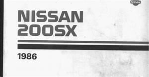 Famous Car Manual  Nissan 200sx S12 1986 Factory Service Repair Manual Download