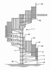 Patent US20080236066 - Segmented spiral staircase and kit ...