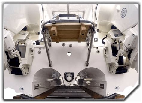 Boat Engine Hydrofoil by Hydrofoil Technology Hysucat Marine