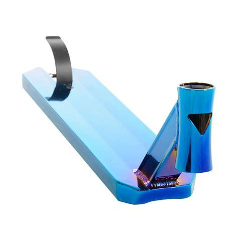 Anaquda Deck V5  50 X 12 Cm  Bluechrome Stuntscooter