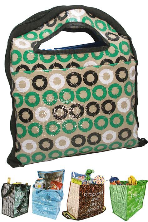reusable shopping bag system  eco