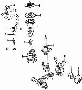 Genuine Oem Suspension Components Parts For 2002 Toyota