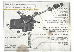 Ford 4000 Hydraulic System Diagram