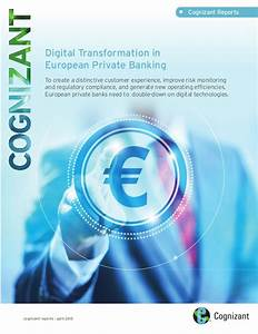 Digital Transformation in European Private Banking