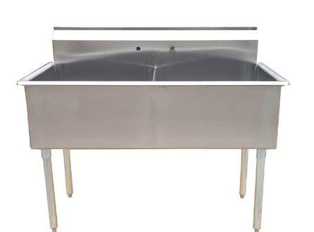 metal kitchen sink sanitary washing equipment brochure terpco 4093