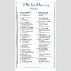11 Plus Revision Materials  Reading Comprehension And Verbal Reasoning By Dbmdbm Teaching