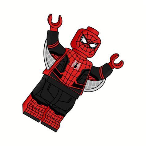 lego spider man   home minifigure spider man