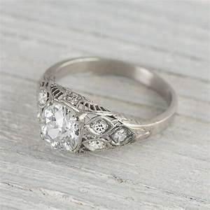 65 best unique engagement rings images on pinterest With vintage antique wedding rings