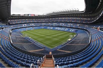 Madrid Stadium Bernabeu Santiago Stadion Wallpapers Estadio
