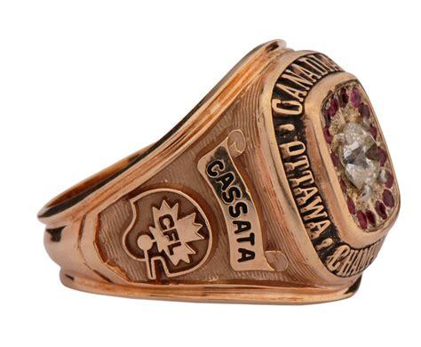 lot detail  ottawa roughriders cfl championship