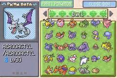 pokemon ash gray beta 25z gba online game boy advance user screenshots