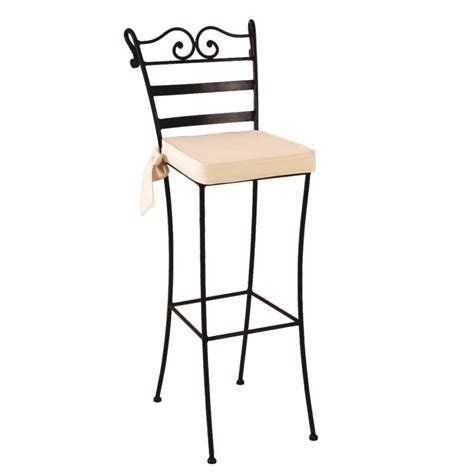 deco chaise tabouret de bar fer forge