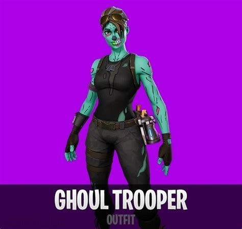 Fortnite Ghoul Trooper  Outfit  Fortnite Skin