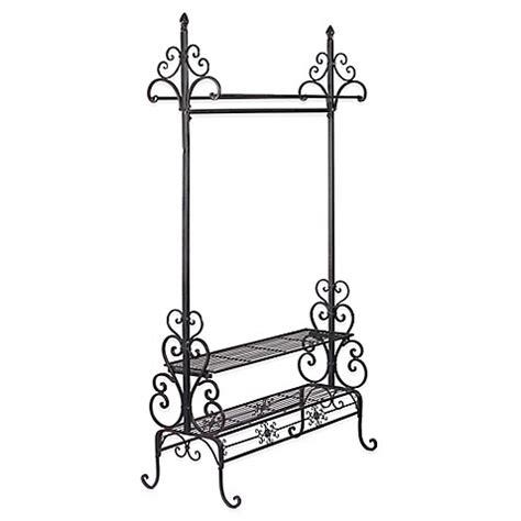 decorative garment rack buy decorative metal garment floor rack from bed bath beyond