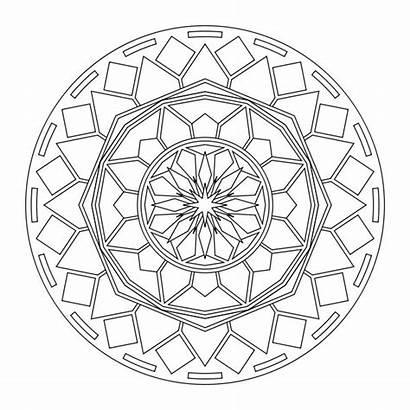 Mandala Printable Coloring Pages Mandalas Designs Colouring
