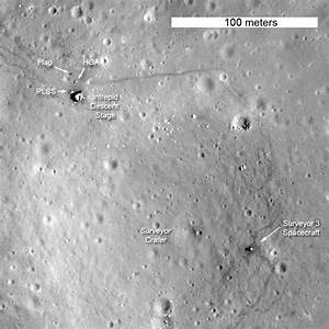 LRO Images Apollo 12 Landing Site | Solar System ...