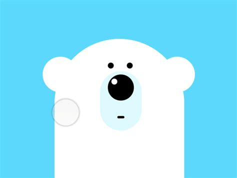 Cool Polar Bear Designs Round Wall Clocks