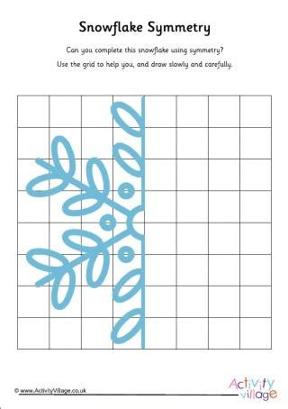 snowflake worksheets