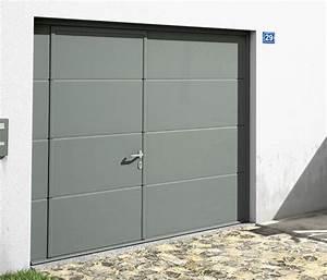 porte garage basculante avec portillon pas cher idees With porte de garage sectionnelle avec serrurier pas cher