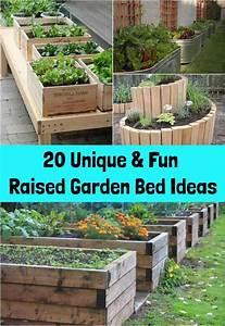 20 Unique  U0026 Fun Raised Garden Bed Ideas