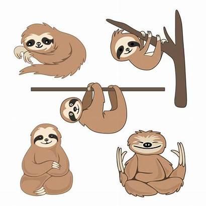 Sloth Svg Cricut Drawing Cuttable Silhouette Designs