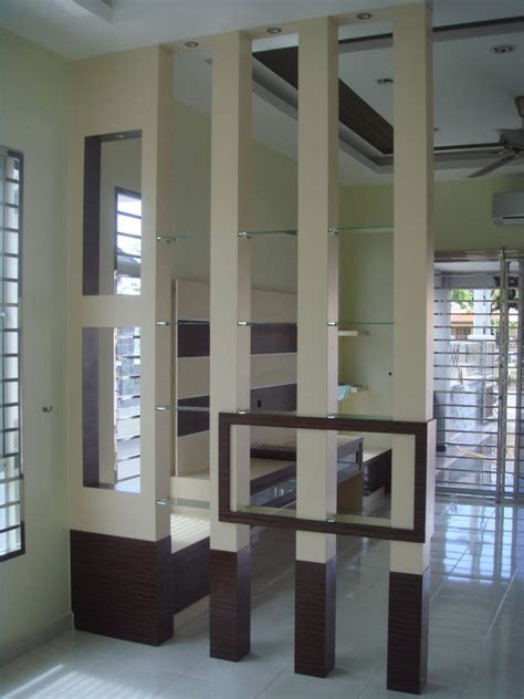Bauhaus Style Home With Interior Glass Walls by Interior Zoning Using Room Dividers And Light Partition