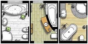 Badgestaltung Für Kleine Bäder : kleine b der grundrisse badgestaltung b der mit badewanne foto shk 100 ~ Sanjose-hotels-ca.com Haus und Dekorationen