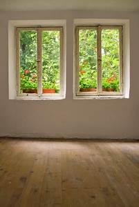 fototapete fenster im alten bauernhaus o pixersr wir With markise balkon mit 3d tapete