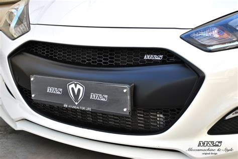 18266 Custom M And Ms Coupon by M S Front Grill 2013 Hyundai Genesis Coupe Vdi