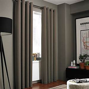 Kenneth cole reaction home gotham texture lined grommet for Window curtains texture