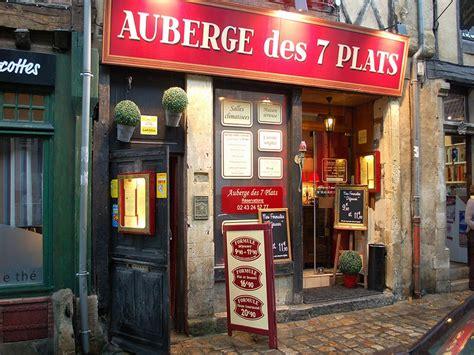 cuisine avenue le mans restaurant auberge des 7 plats le mans tourisme en