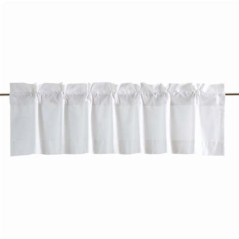 Inch Valance by Sonnet White 72 Inch Valance By Vhc Brands The Patch
