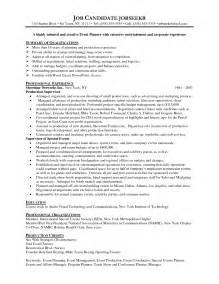 basic resume sle free event event planner resumes basic sle resume for event coordinator student resume template