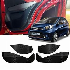 Kia Picanto Gebraucht Ebay : carbon door decal sticker cover kick protector for kia ~ Jslefanu.com Haus und Dekorationen