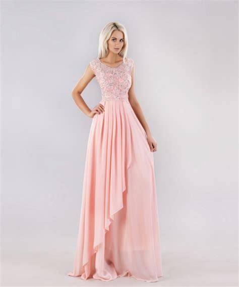 sukienka maxi długa r 243 ż diamenciki koronka szyfon w suknie i sukienki szafa pl
