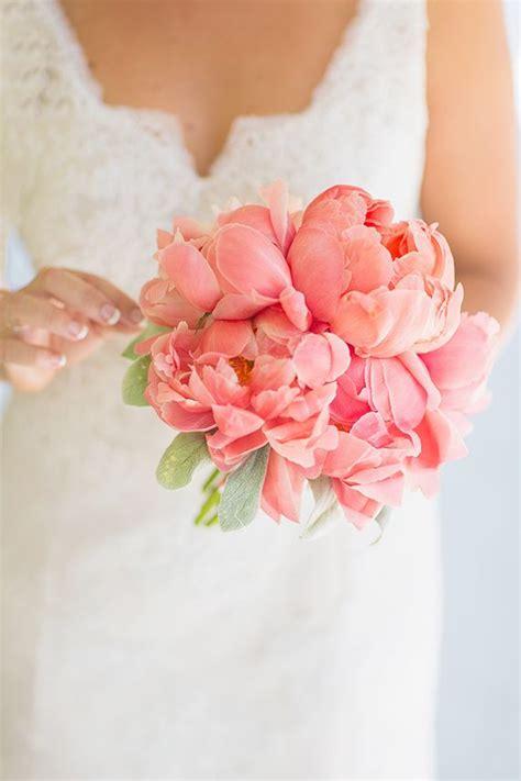 Florida Botanical Garden Wedding Peony Bouquet Wedding
