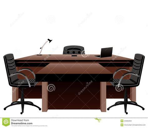 bureau de directeur le bureau du directeur illustration de vecteur