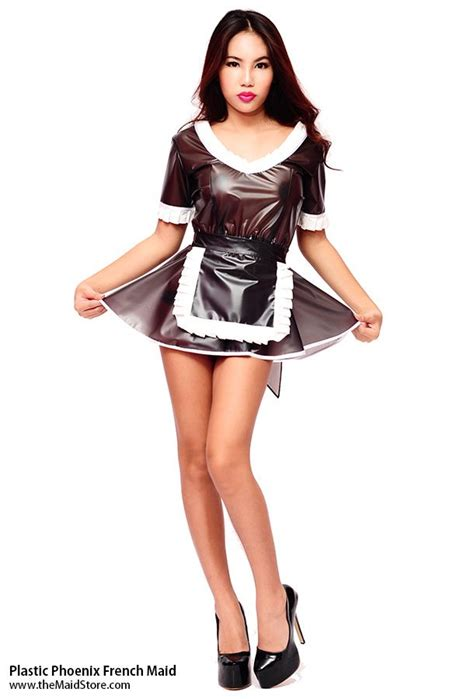 Best Plastic Images On Pinterest French Maid Cute Girls And Maid Dress
